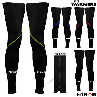Cycling Leg Warmers Thermal Roubaix Knee Running Winter Cycle Warmers S/M - L/XL