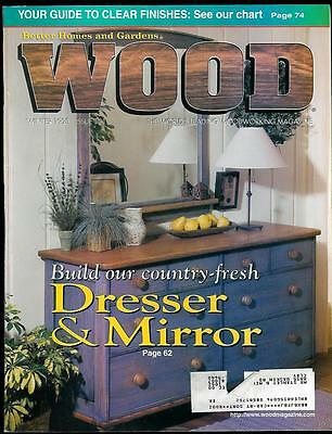 Wood Magazine # 111 By Better Homes U0026 Gardens Winter 1998 Dresser U0026 Mirror