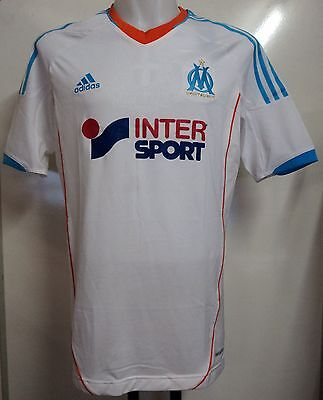 Olympic Marseille Player Issue 2012/13 S/s Techfit Home Shirt By Adidas Size Xl