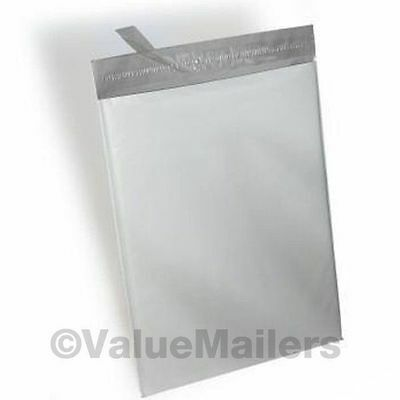 100 10x13 POLY MAILERS ENVELOPES SHIPPING BAGS PLASTIC SELF SEALING BAGS 2.4 MIL