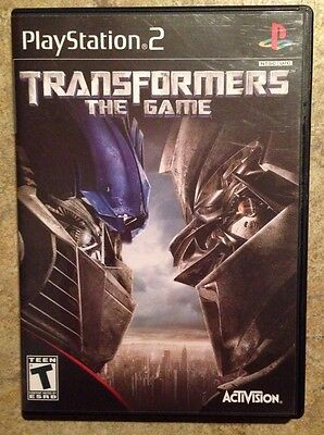 2007 PS2 Transformers The Game Playstation 2