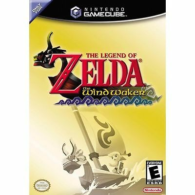 Gamecube/Wii The Legend of Zelda: The Wind Waker Black Label) Complete Very Rare