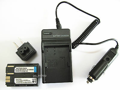 BP-511A Battery Pack + Charger for Canon PowerShot G1 G2 G3 G5 G6 Digital Camera