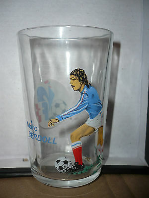 Verre à moutarde Foot 1978 équipe de France - vintage glass - Marc BERDOL