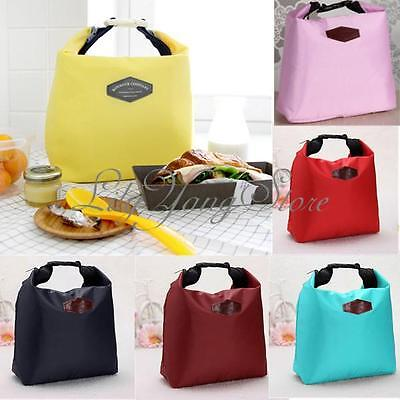 Thermal Insulated Cooler Waterproof Lunch Tote Storage Picnic Carry Bag Pouch