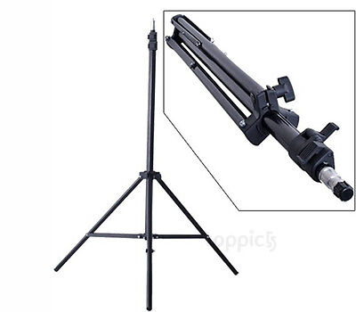 Professional Photo Photography Studio 2.1M  Light Stand Tripod Lighting Kit Set