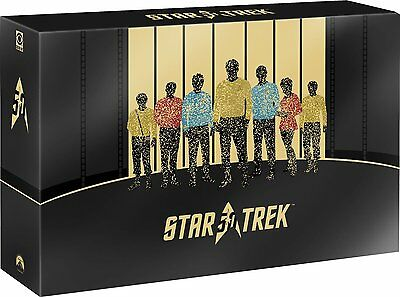 STAR TREK 50th Anniversary Limited Edition BOX SET 30 BLURAY+extra NEW .cp