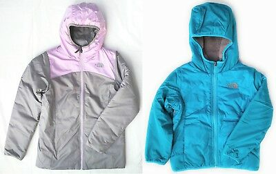 cd9d59ad5 THE NORTH FACE Youth GIRLS REVERSIBLE Perseus Insulated JACKET ...