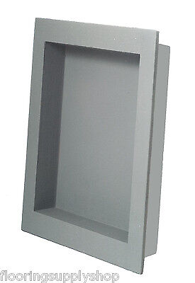 Preformed Single Recessed Shower Niche 12 x 20 Ready to Tile & Waterproof