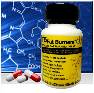 Strongest T5 Fat Burner Weight Loss Diet Slimming Pills
