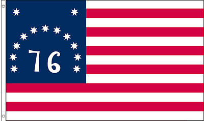3x5 FT Polyester US AMERICAN BATTLE 1776 BENNINGTON USA 76 HISTORIC FLAG b