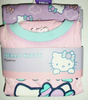 Girls Pyjamas with Hello Kitty detail