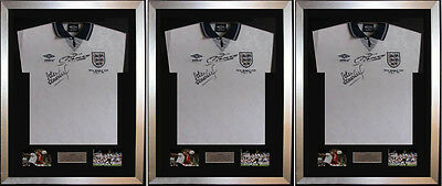 "3 X Frame For Signed Football Shirt plus any 2 Landscape 6"" x 4"" photos"