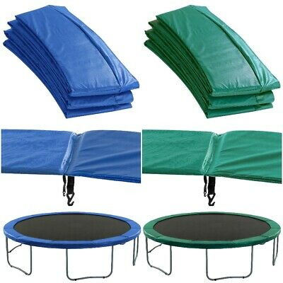 Premium Trampoline Replacement Safety Pad (Spring Cover) - Blue or Green Padding