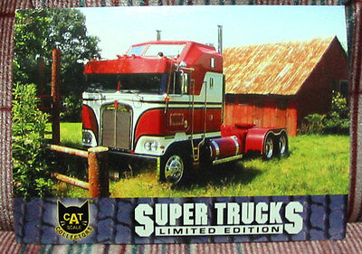 CAT SCALE Collectors Card Super Trucks BJ And The Bear Kenworth - MINT/NEW