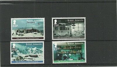 British Antarctic Territory 2013 70Th Anniv Of Bransfield House 4V Set Mnh