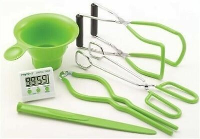 Presto 09995 Seven (7) Function, Six (6) Piece Canning Kit