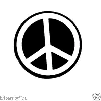Peace Helmet Sticker Laptop Sticker Window Sticker Bumper Sticker Toolbox
