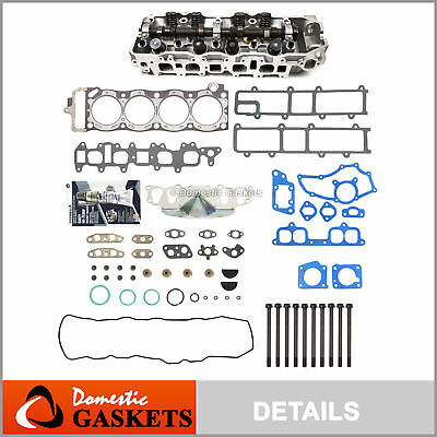 85-95 Toyota 4Runner Pickup Celica 2.4L Complete Cylinder Head+Bolts 22R 22RE