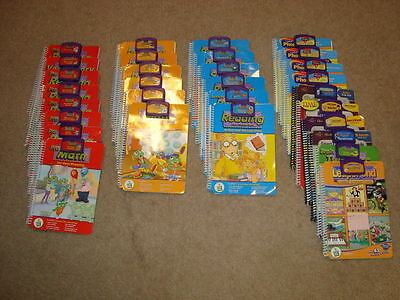 Book & Cartridge SETS for the Leap Pad Learning System - PICK 1