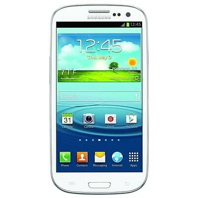 Samsung Galaxy S III SGH-T999-16GB -Marble White Tmobile (Unlocked) Smartphone