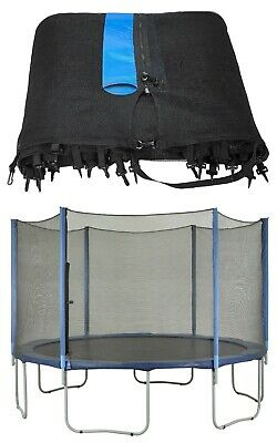 Upper Bounce - Trampoline Replacement Enclosure Safety Net - Outside of Frame