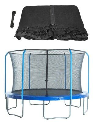 Trampoline Replacement Enclosure Surround Safety Net,Protective Top Ring Netting
