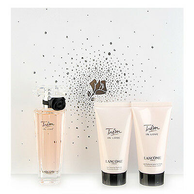 3 PCS LANCOME Tresor In Love Eau De Parfum Fragrance Gift Set #8535