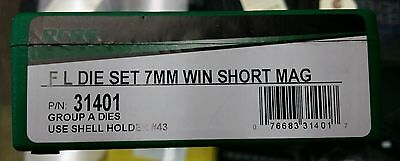 RCBS Group A FLDS for 7mm WSM, Winchester Short Mag, #31401, NIB