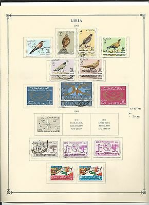 Libya 1964 to 1974 Collection on Scott International Pages, SCV $174