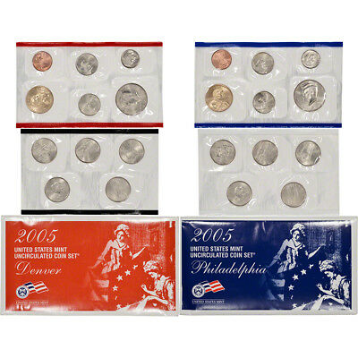 2005 United States Mint Uncirculated Coin Set (U05)