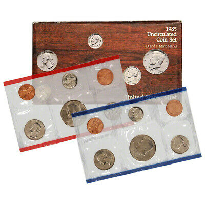 1985 United States Mint Uncirculated Coin Set