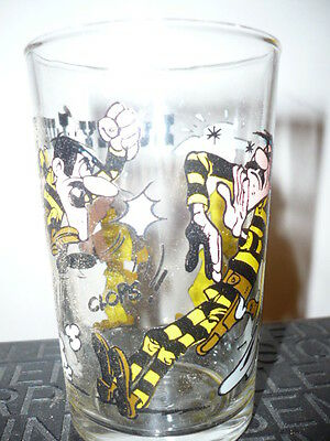 Verre à moutarde Lucky Luke N°3/1985 - vintage glass by Morris