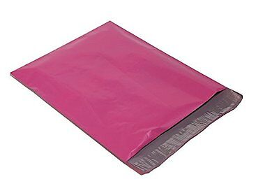 200 10x13 Hot Pink Poly Mailers Shipping Envelopes Couture Boutique Bags