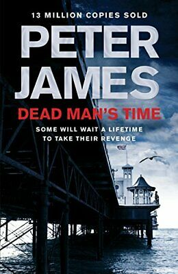 Dead Man's Time (Roy Grace) by James, Peter Book The Cheap Fast Free Post