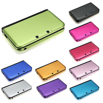 10 Color Aluminum Hard Metal Protective Cover Case Shell For Nintendo 3DS XL LL