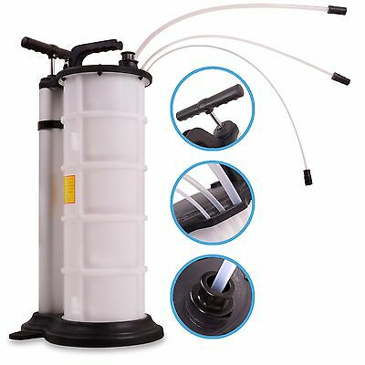 New 9L Manual Pneumatic Air Vacuum Engine Oil Garage Fluid Extractor Bleeder Kit