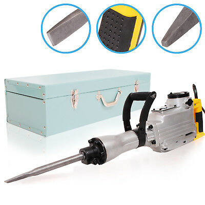 1500w ELECTRIC ROTARY CONCRETE DRILL BREAKER DEMOLITION POWER JACK CHISEL HAMMER
