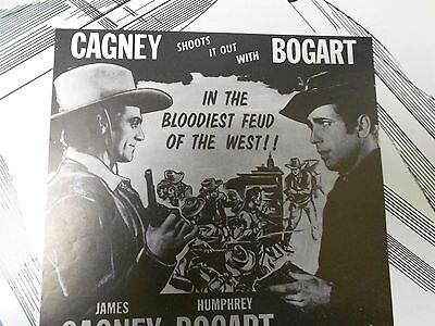 1956 THE OKLAHOMA KID Press Book Kit WESTERN Cagney & Bogart FN+