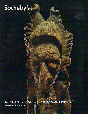 SOTHEBY'S African Oceanic Pre-Columbian Tirbal Art Private Collection Catalog 13