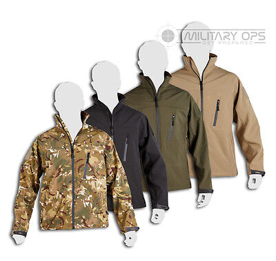 Kombat Uk Trooper Soft Shell Tactical Recon Spec Ops Jacket Layer