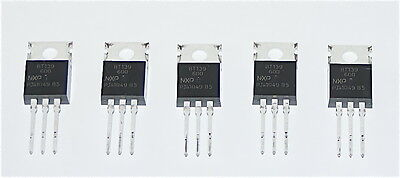 Bt139-600 Triac 600V To-220 Package Non Isolated Bt139 - 5 Pieces