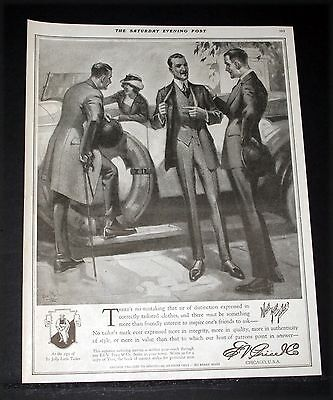1919 Old Magazine Print Ad, E.v. Price Tailored Clothes For Men, Fashion Art!