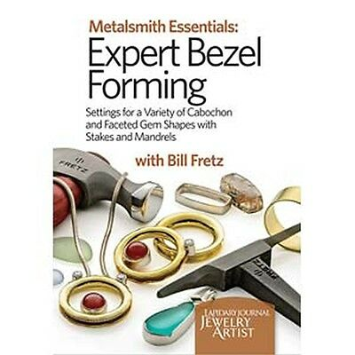 Metalsmith Essentials Expert Bezel Forming Instructional DVD Bill Fretz