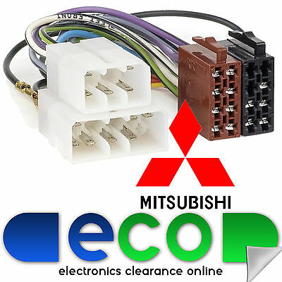 Autoleads PC2-12-4 Mitsubishi Space Runner 1991-1999 Car Stereo ISO Harness Lead