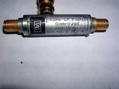 Hp Agilent 5086-7289  Low Pass Filter