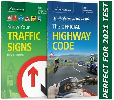 The Official Highway Code ; Know Your Traffic Signs *Hw Code +Traffic books UK