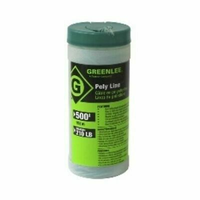 Greenlee Textron 430-500 Poly Twine Fish Pull Line 500' 210LB Strength