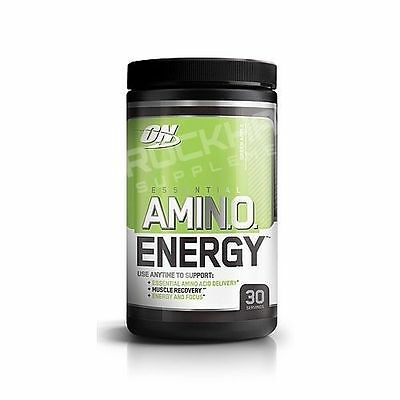 *optimum Nutrition Amino Energy (30 Serves) Apple Recovery * Bcaa's*