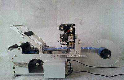 Automatic Round Bottle labeler machine with Date code printer,in USA stock